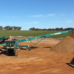 Murray's Gravel Pit - Gravel Production