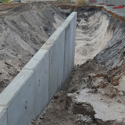 Design and Construct Retaining Wall